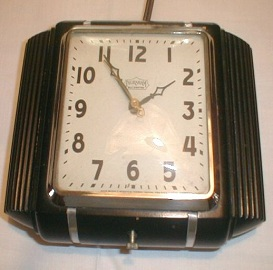 Antique Art Deco Clock, Kitchen Wall Clock