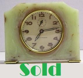 Antique Art Deco Clock, catalin alarm clock