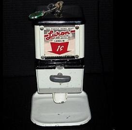 Vintage Coin-Op, Penny Soap Dispenser
