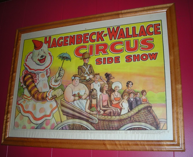 Vintage Circus Side Show Poster