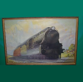 Antique Train Print