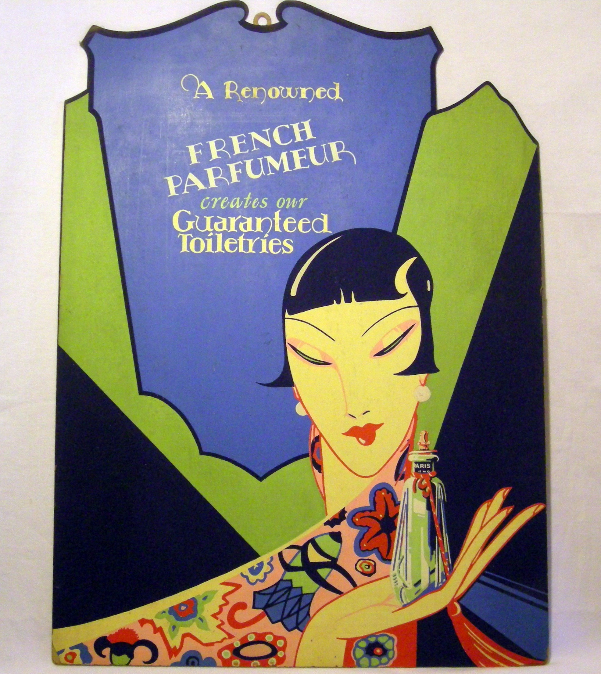 Vintage Perfume Cut Out Ad