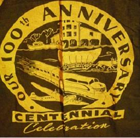Vintage Centennial Banner