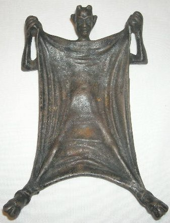 Antique Devil Ashtray