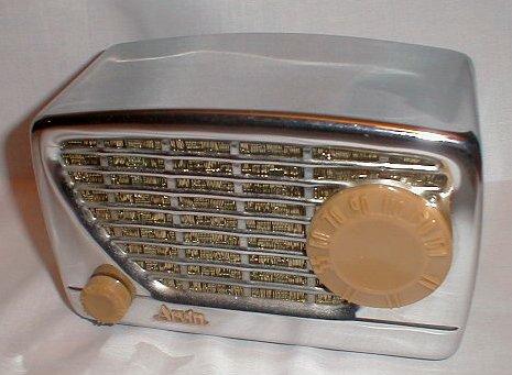 Antique Chrome Radio