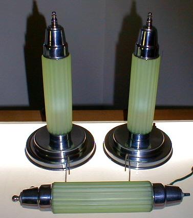 Art Deco Lamp,      Bedroom Set
