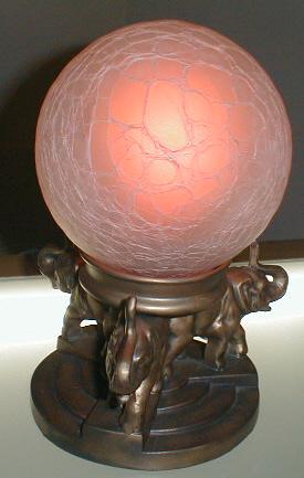 Vintage Art Deco        Nuart Lamp