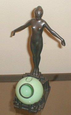 Art Deco Frankart      Nude Ashball