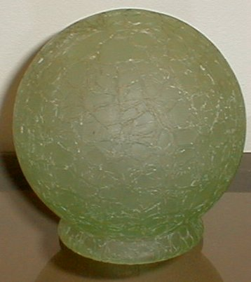 Green Crackle Shade