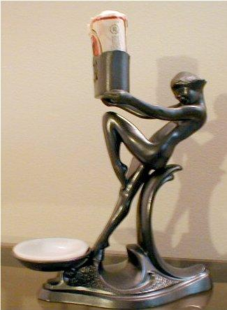 Art Deco Nude Nuart cigarette holder