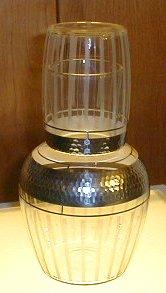 Antique Glass Tumble Up        Set