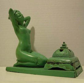 Figural Incense Burner