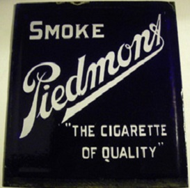 antique advertising, porcelain sign