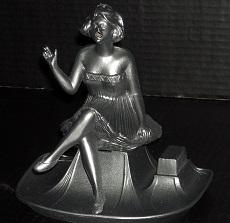 Antique Figural Incense Burner